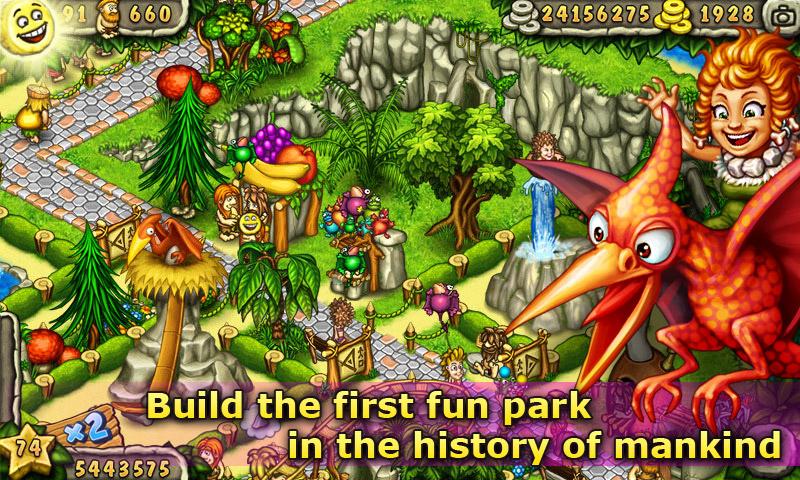 Игра Первобытный парк для планшетов на Android